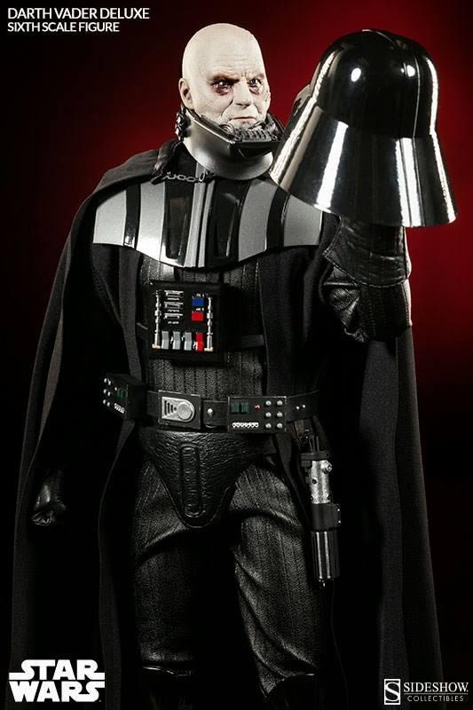 Darth Vader sin Casco