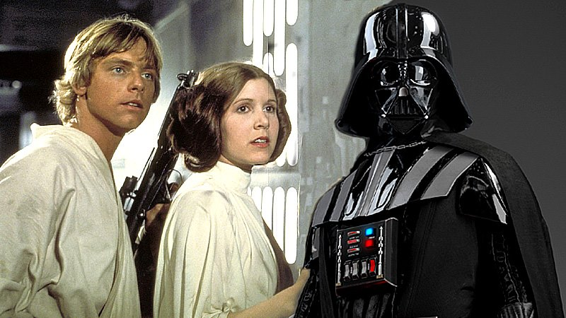 Darth Vader y sus hijos