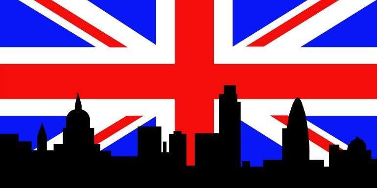 LRDO - Banderas - Azul y Rojo - Reino Unido - Monarquía