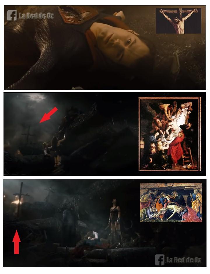 Es Kal El el Jesús bíblico - Superman - Crucifixión - Cristo